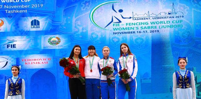 Зайнаб Дайыбекова Жәҳән кубогиниң алтын медалына миясар болды