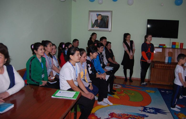A practical workshop was organized for the Nukus branch in January.