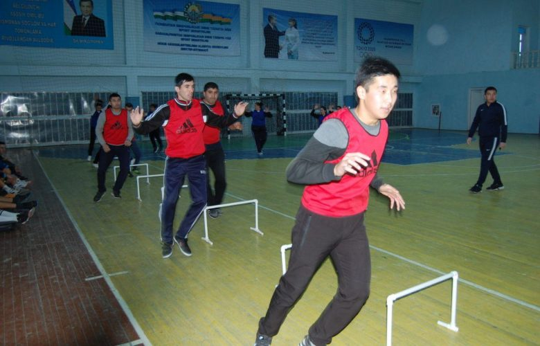 Master classes for handball students, who came to Nukus branch in January, were organized.