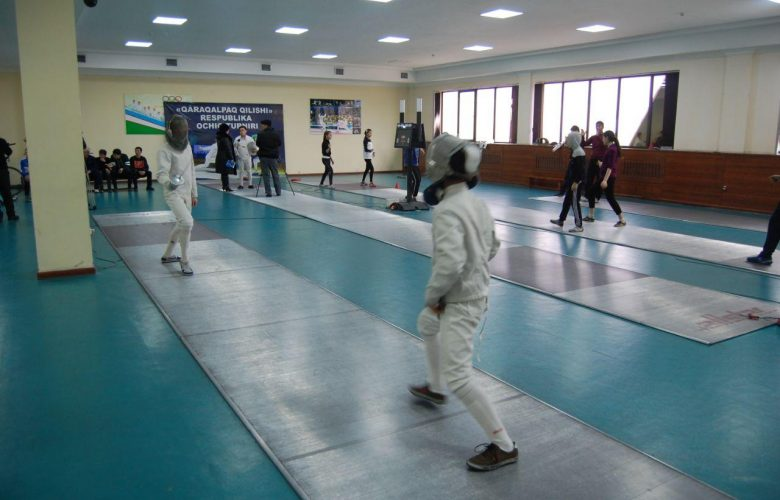Nukus branch organized a practical workshop on fencing among the trainees who came to the refresher course in January.
